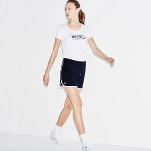 Lacoste navy tennis skirt